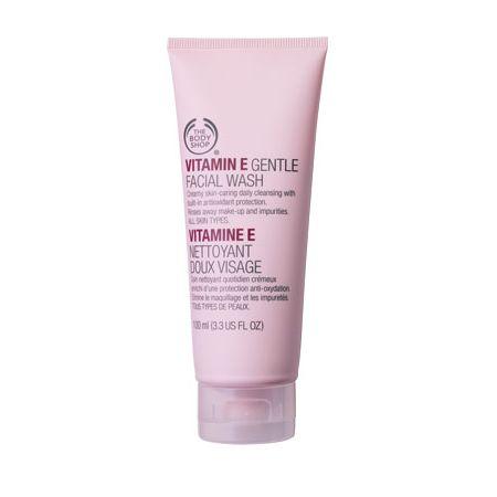 vitamin e face cream body shop