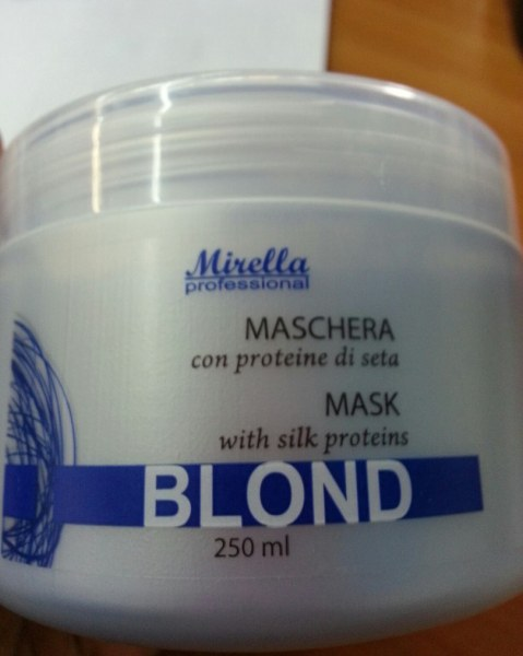 Маска для осветленных волос восстанавливающая отзывы