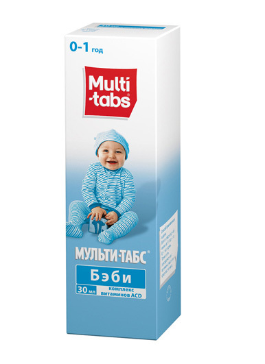 мульти табс инструкция по применению для детей 1 года