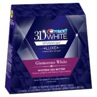 how to use crest 3d white strips glamorous white