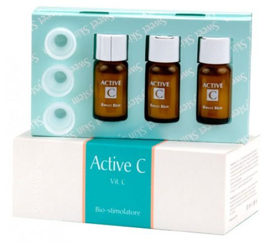 Sweet skin system active c крем-сыворотка витамин с - биостимулятор.