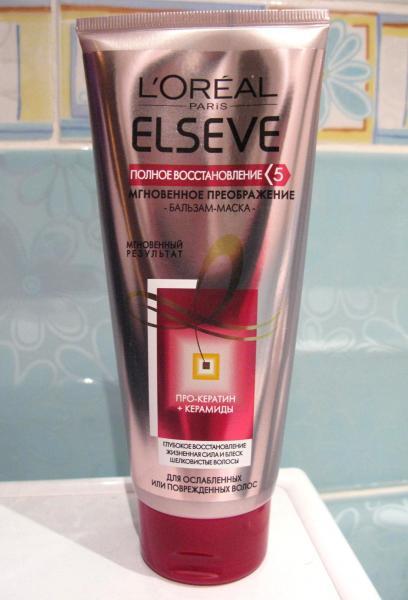 Маска для волос эльсев полное восстановление отзывы