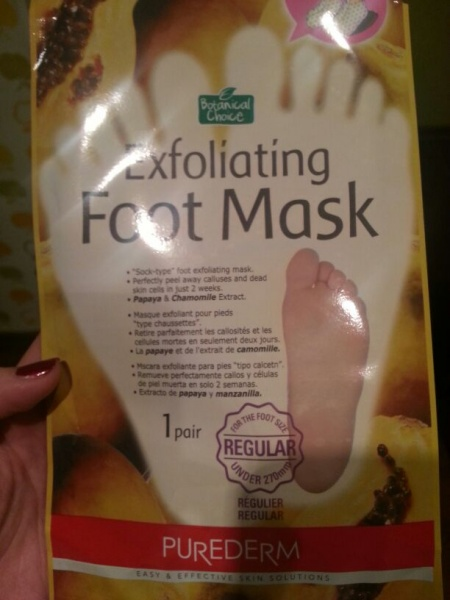 Foot Mask инструкция на русском языке img-1