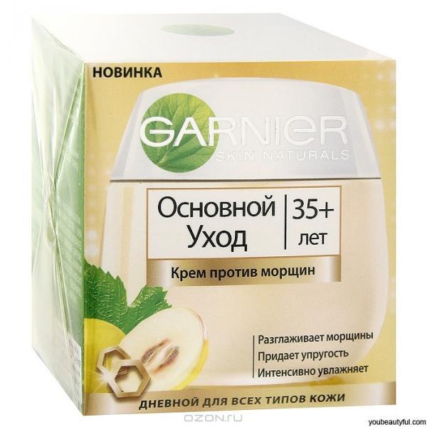 гарньер крема для лица от морщин