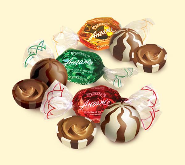 конфеты рошен фото