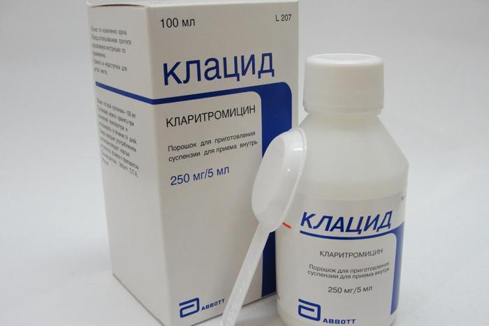 Клацид (125, 250, 500 мг) и клацид ср – инструкция по применению.