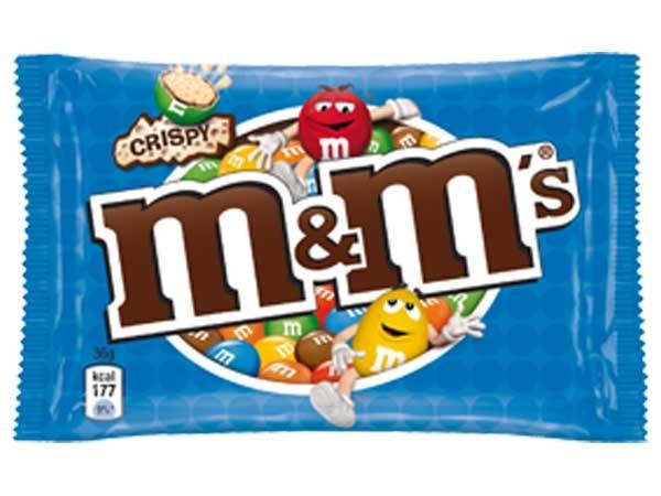 Драже Mars M&M's с воздушным рисом (синий) - «Криспи + фото ...