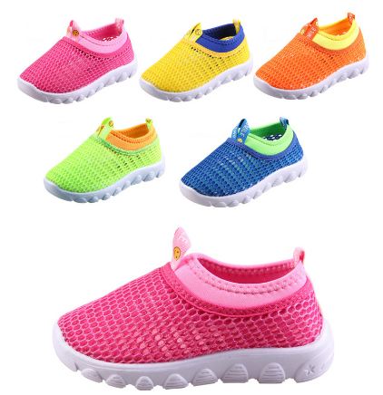 8b0165b5 Кроссовки Aliexpress 2016 summer new children shoes fashion breathable mesh  Sneakers boys and girls casual shoes (child / Little Kid / Young) - отзывы