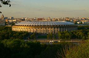 Стадион БСА Лужники г.Москва.