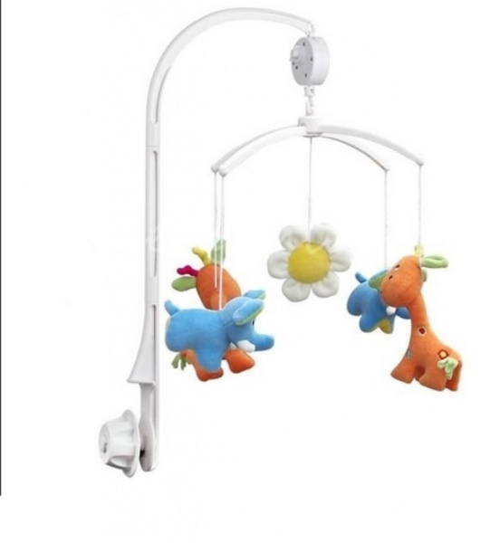 Abs 5pcs Set Baby Crib Mobile Bed Bell