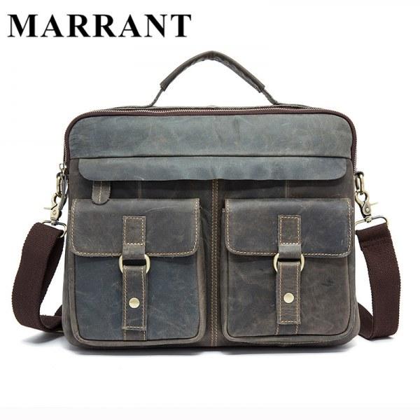 fdf54e9c46b4 Мужская сумка Aliexpress Сумка из натуральной кожи Marrant Hot ...