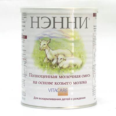 Rozetka. Ua | фото сухая молочная смесь нэнни классика 400 г.