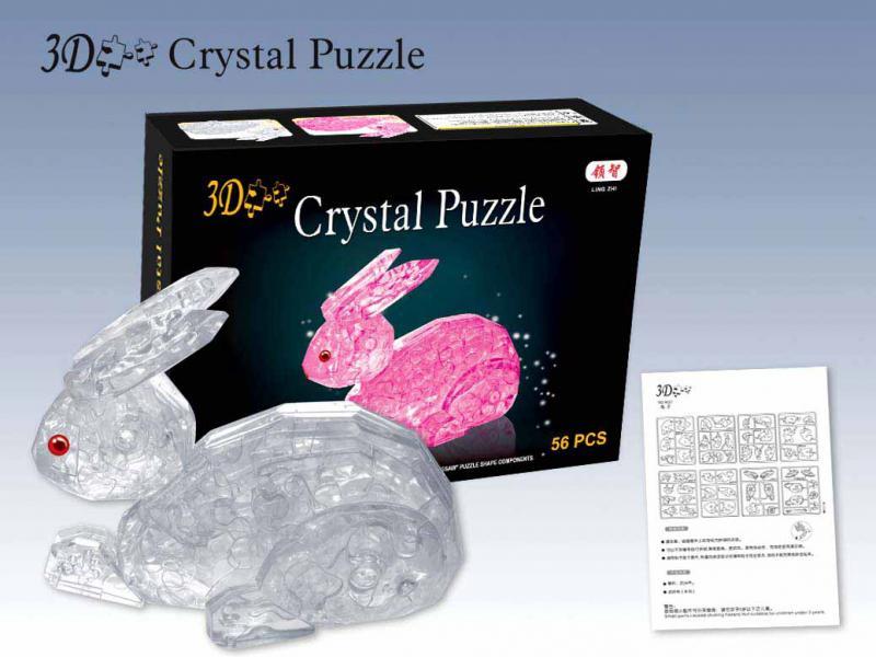 Инструкция к crystal puzzle 3d
