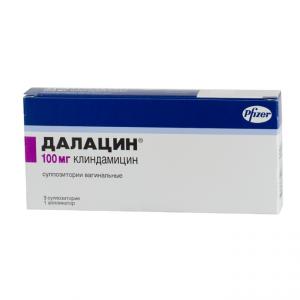 Далацин свечи и антибиотик