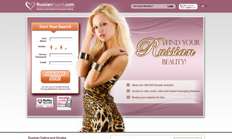 russian cupid сайт знакомств вход