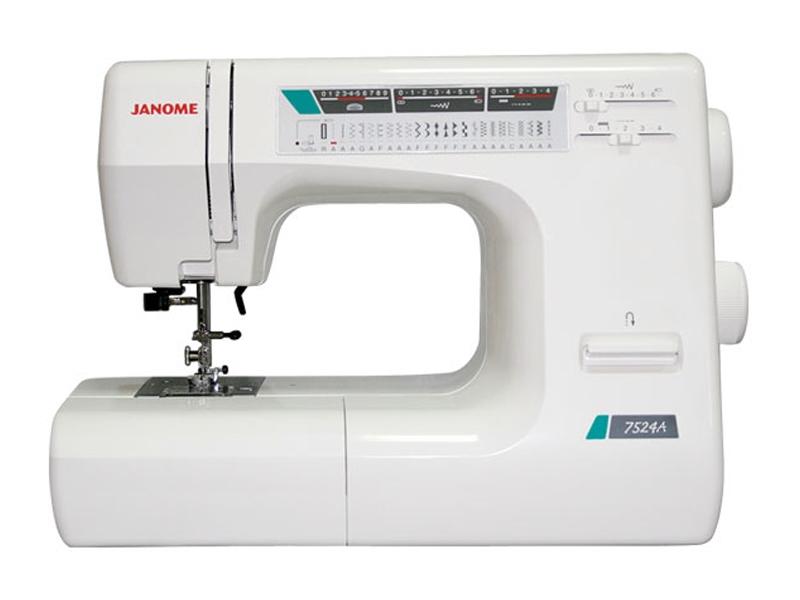 швейная машинка janome 7524a инструкция