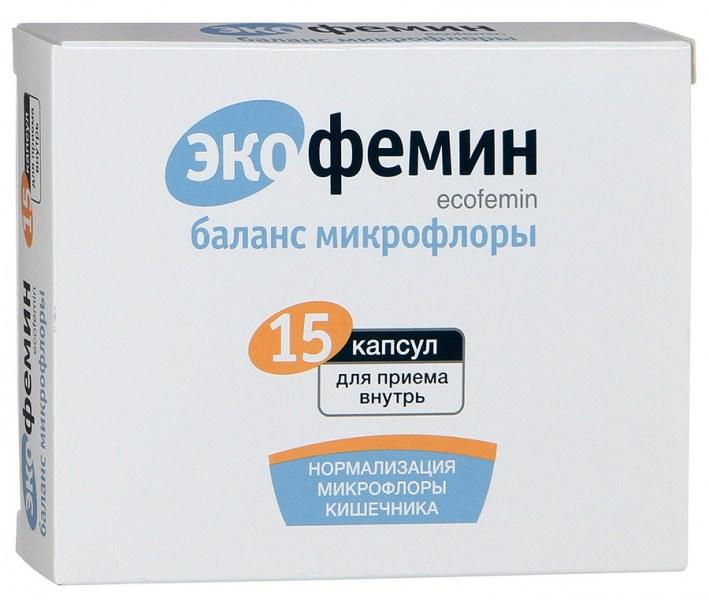 Экофемин баланс микрофлоры инструкция