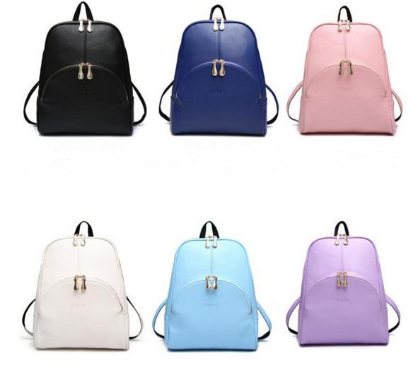 Рюкзак Aliexpress 2016 Fashion Backpacks Women Pu Leather   Отзывы ... fbaba0274ad