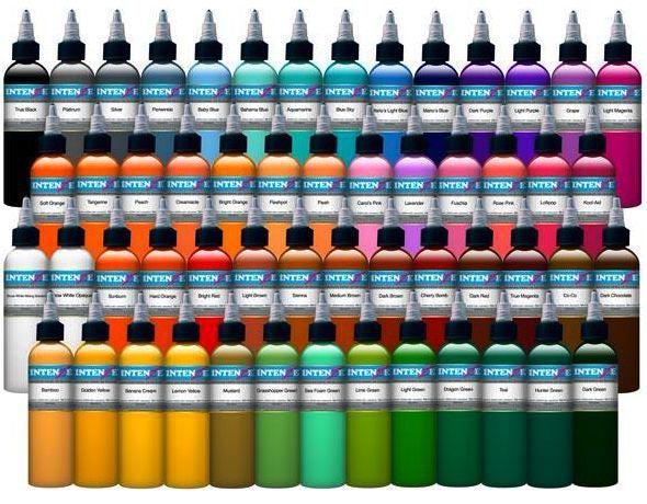 Интенза краска для татуажа