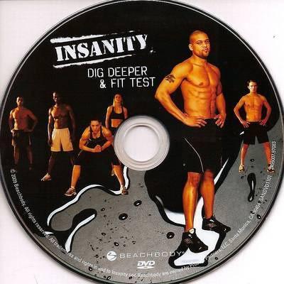 Insanity Deluxe Beachbody Insanity Deluxe
