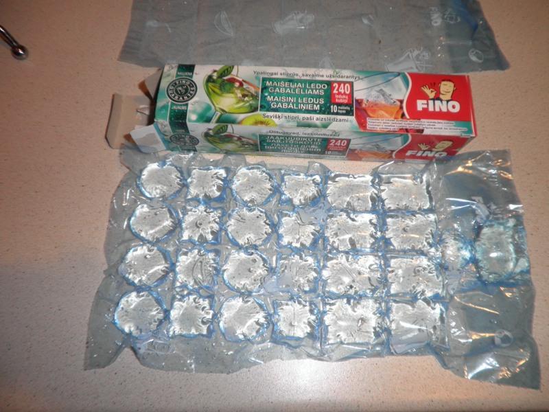 """Пакеты для льда """"FINO"""" - «волшебные пакетики (фото ..."""