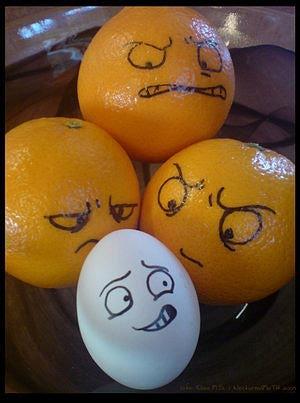 Диета апельсин и яйцо – простой способ избавиться от лишних кило.